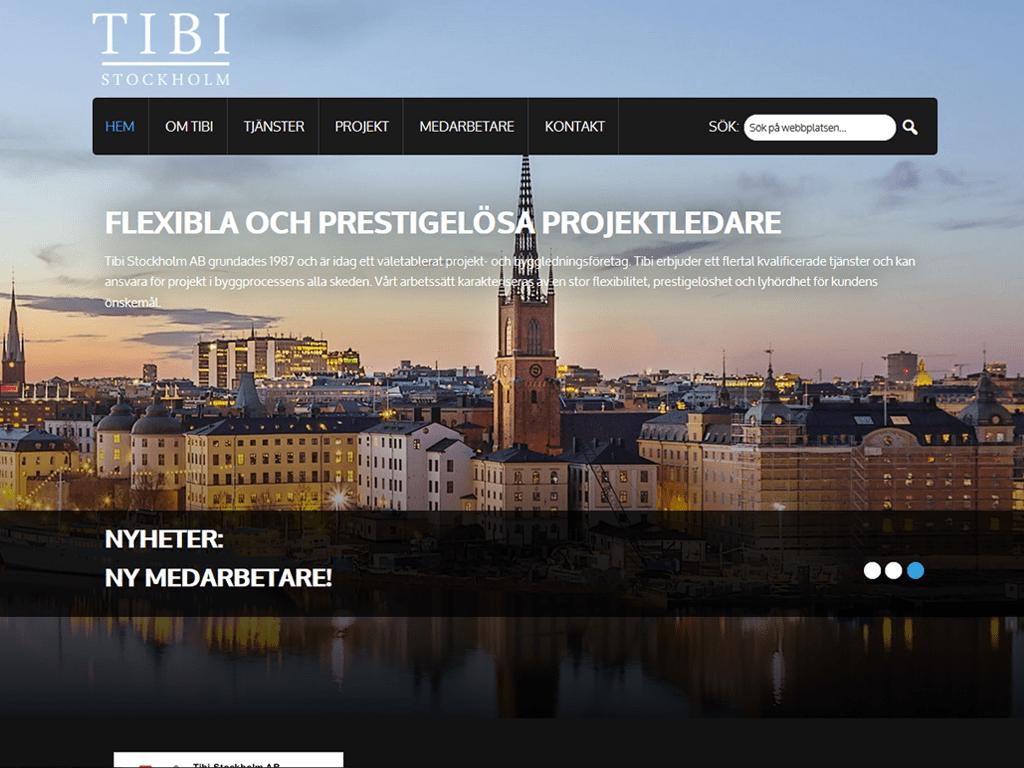 Desktop screenshot Tibi